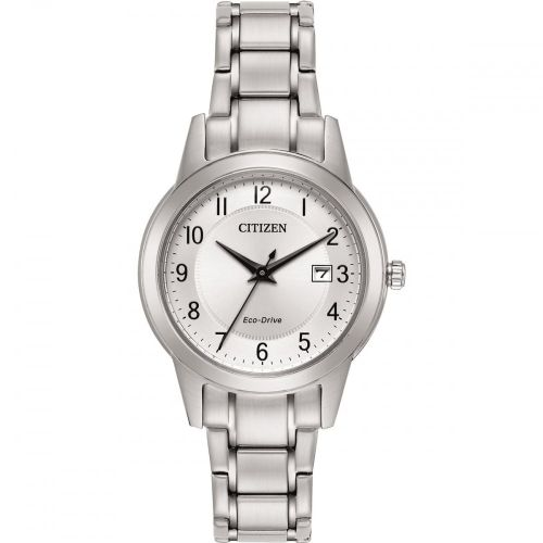 FE1081-59B Citizen Watch Stainless Steel Eco-Drive Ladies